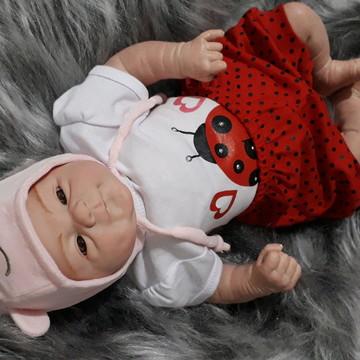 Linda Bebê Reborn Carequinha