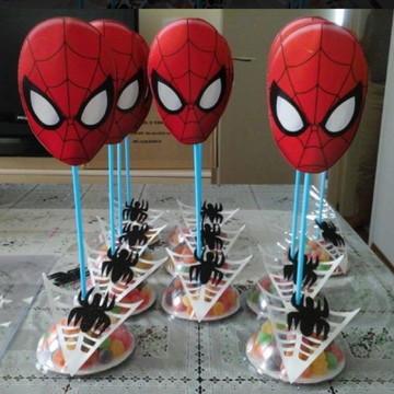 Centro de mesa - Homem Aranha