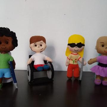 família lúdica deficiente