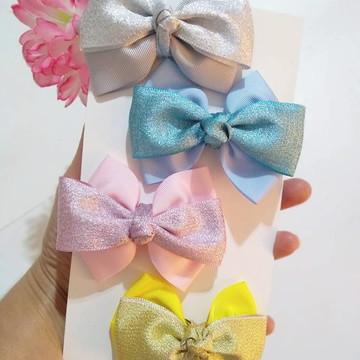 Kit Laços Candy Color