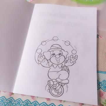 Livro de colorir com GIZ Circo