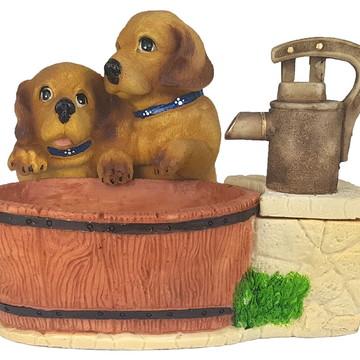 Fonte Cachorrinho feito em Resina