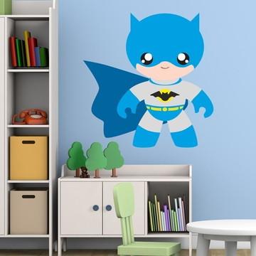 Adesivo Parede Infantil Super Heroi Cut Baby Quarto Menino