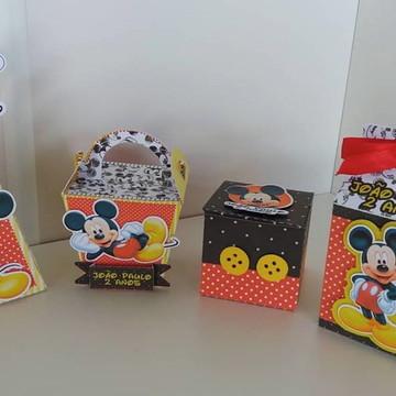 Mickey e sua turma caixinha lembrancinha mickey festa mickey