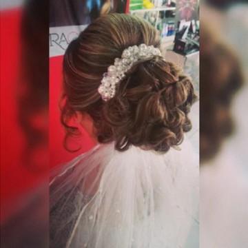 Tiara Coroa Casamento Noiva Madr Strass Linda - Pronta Entre