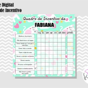 QUADRO DE INCENTIVO 6 - ARTE DIGITAL