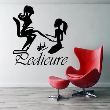 Adesivo Decorativo Manicure Pedicure