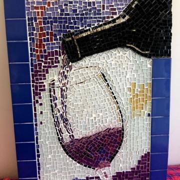 Quadro Parede Mosaico