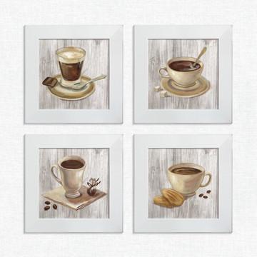 Quadros Decorativos Cozinha Café Chocolate Pequeno Comp1224