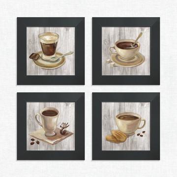 Quadros Decorativos Cozinha Café Chocolate Médio Comp1224