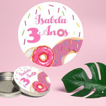 Adesivo Para Latinha Mint To Be Donuts