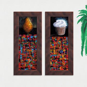Quadros Decorativos Cozinha Abstratos Pequeno Comp1229
