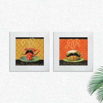 Quadros Decorativos Cozinha Café Espresso Pequeno Comp1239
