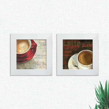Quadros Decorativos Cozinha Café Cafeteria Médio Comp1241
