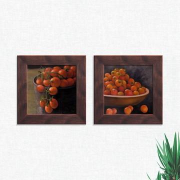 Quadros Decorativos Cozinha Frutas Laranjas Médio Comp1244