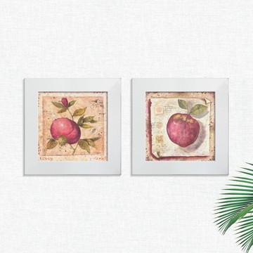 Quadros Decorativos Cozinha Frutas Pequeno Comp1249