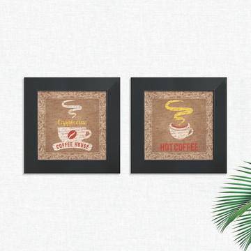 Quadros Decorativos Cozinha Coffee Pequeno Comp1268