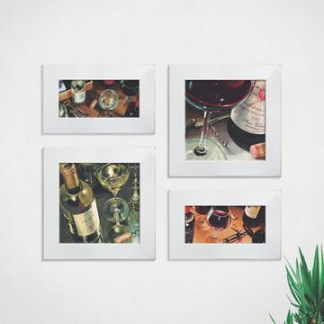 Quadros Decorativos Cozinha Vinho Adega Comp1281