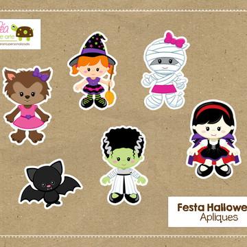 Apliques Festa Halloween
