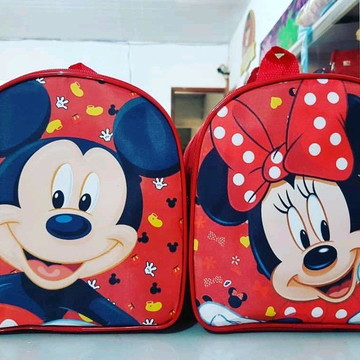 Bolsinhas G mochila Mickey