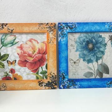 Quadros Decorativos Flores Color