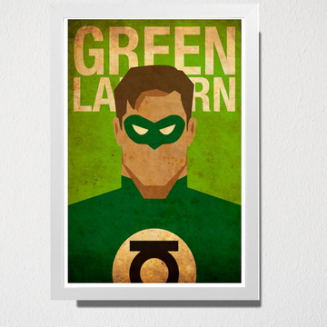 Quadro A5 Green Lantern
