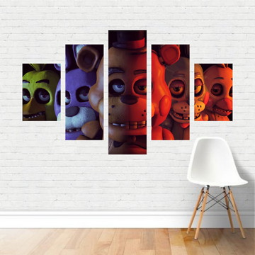Quadro Canvas Games - FNAF Five Nights at Freddy's GA19C5P
