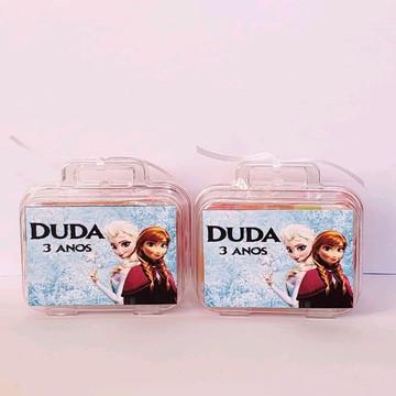 kit maletinha com massinha de modelar frozen