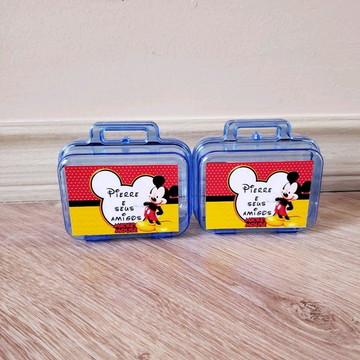 kit maletinha com massinha de modelar Mickey