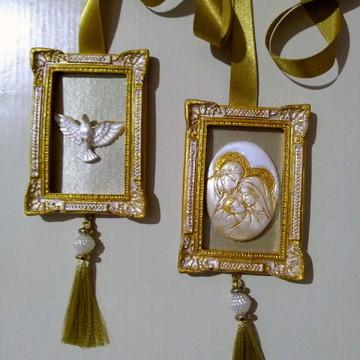 Escapulário de porta Sagrada Família