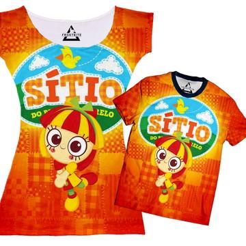 Vestido ou Camiseta Sitio do Pica Pau Amarelo Emília
