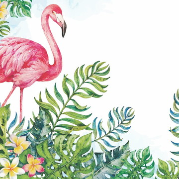 Painel Festa Flamingo (FLA01)