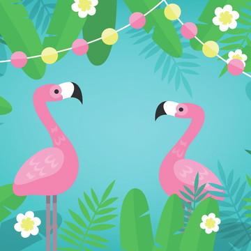 Painel Festa Flamingo (FLA02)