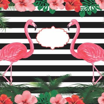 Painel Festa Flamingo (FLA03)