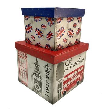 Conjunto de Caixas Organizadoras Londres