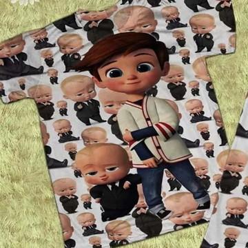 Camiseta infantil O Poderoso Chefinho