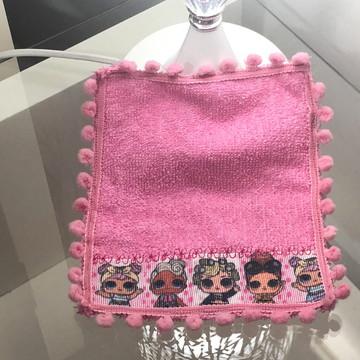 Mini toalha da lol