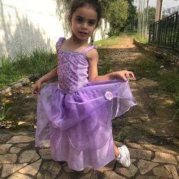 Fantasia princesa sofia Infantil
