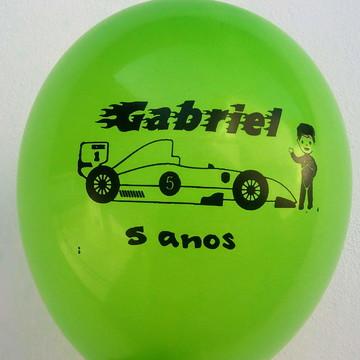 Balões Personalizados - Fórmula 1