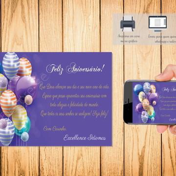 Cartão Digital Feliz Aniversário 006