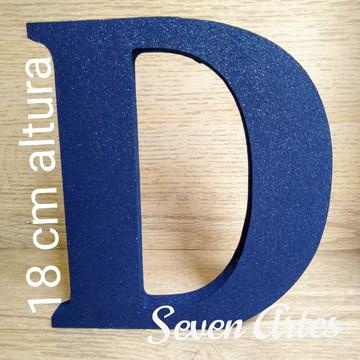 Letra decorativa MDF 18 cm Altura Pintada