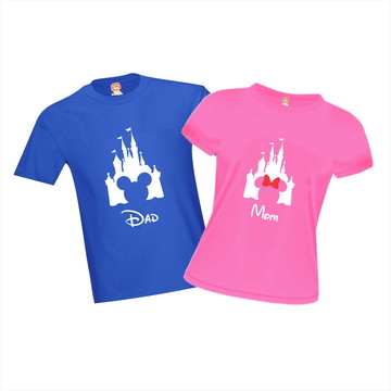 Camisetas Castelo Disney Mickey Minnie Orlando