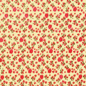 Tecido Algodao Florzinha 1,4 metro largura x 0,5 comprimento