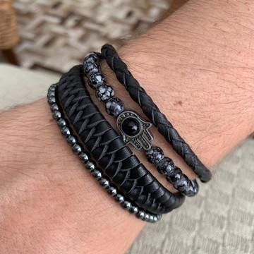 Kit de pulseiras masculinas II