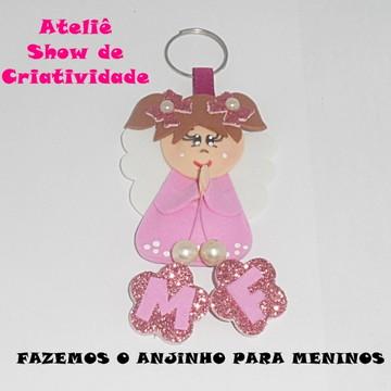Chaveiro Anjinha (o) - Lembrancinha Maternidade