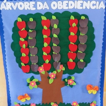 "Painel ""Árvore da Obediência"""
