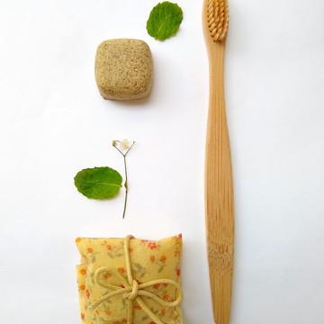 Kit higiene bucal natural