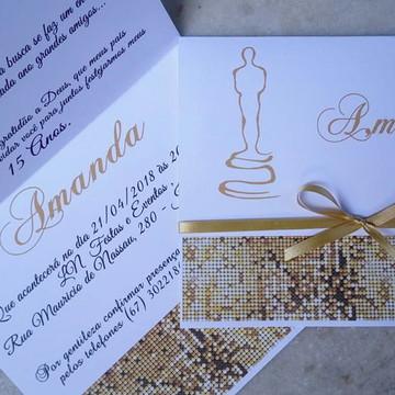convite 15 anos Oscar
