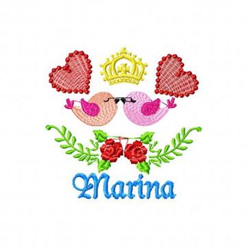 Marina Montagem com Nomes - fazemos com qualquer nome