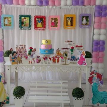 Aluguel Decoração Tema Princesas